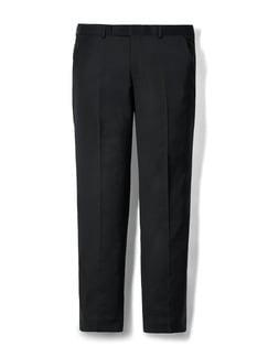 Biella Anzug-Hose Super100 Schwarz Detail 1