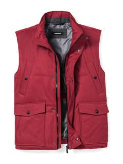 Thermore Outdoor-Weste Rot Detail 1