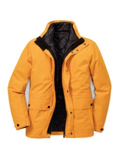 Klepper Thermoparka 3in1 Gelb Detail 1