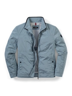 Light Weight Blouson Topas Blau Detail 1