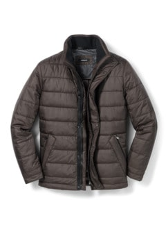 Thermore Steppjacke Mokka Detail 1