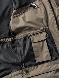 Klepper Jacke Wetterschutz Khaki Detail 3