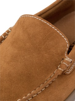 Komfort-Mokassin Safran Detail 4
