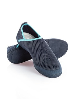 Strand-Slipper Navy Detail 1