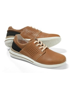 City-Sneaker 2.0 Cognac Detail 1