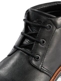 Chukka-Stiefel Schwarz Detail 4