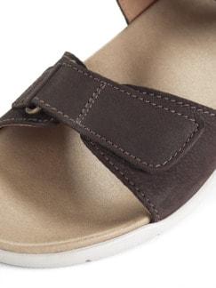 Klett-Sandale Braun Detail 4