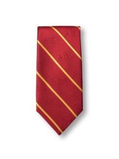 Walbusch-Krawatte Streifen Rot Detail 1