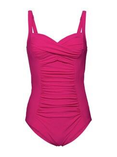 Badeanzug Shape Effekt Pink Detail 3