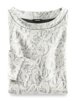 Paisley Sweaty Grau/Offwhite Detail 3