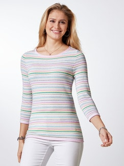 Sommer Cotton Pullover Miami Pastell Multicolor Detail 1
