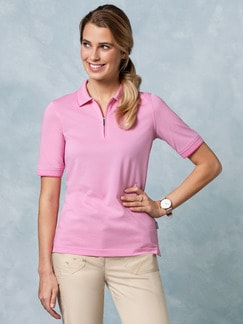 Klepper Easy Care Polo Uni Pink Detail 1