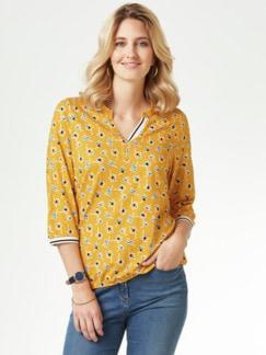 Millefleurs Shirt Strandspaziergang Gelb Detail 1