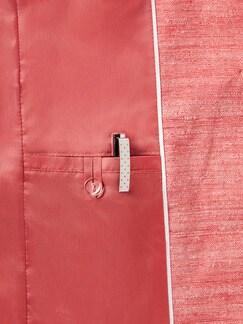 Seidenblazer Flamingo Detail 4