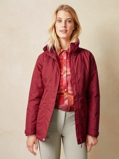 Klepper Thermoleichtjacke Packable Dahlienrot Detail 1