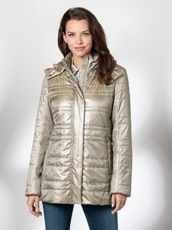 City Thermo Jacke champagner Detail 1