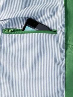 Ledercardigan Handschuhweich grasgrün Detail 4