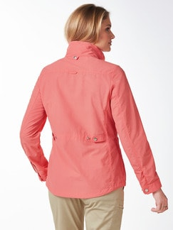 Klepper Cotton-Jacke Koralle Detail 4