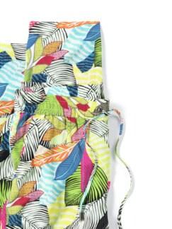 Jogpant Viskosa Blätterdruck Multicolor Detail 4