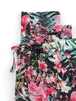 Jogpant Blumendruck Multicolour Detail 4
