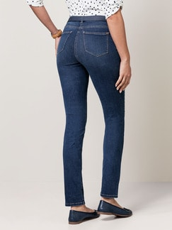 Skinny Jeans Blue Stoned Detail 4