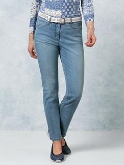 Coolmax Jeans Mid Blue Detail 1