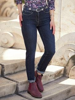 Cashmere Jeans Dark Blue Detail 2