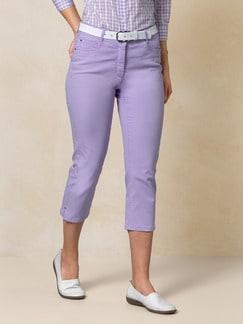 Capri Yoga-Jeans Flieder Detail 1