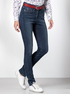 Push up Jeans Blue Stoned Detail 1