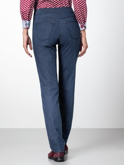 Raphaela by Brax Thermo Jeans Blue Stoned Detail 3