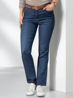Passform Jeans Regular Fit Blue Stoned Detail 1