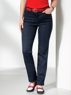 Passform Jeans Regular Fit Dark Blue Detail 1