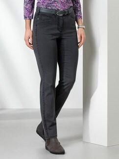 Passform Jeans Feminine Fit Grey Detail 1