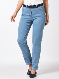 Highstretch-Jeans Midblue Detail 1