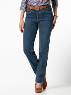 Powerstretch Jeans Mid Blue Detail 1