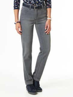 Jogger Jeans Mid Grey Detail 1