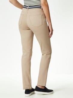 Gürtel- Jeans Saharabeige Detail 3