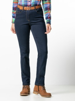 Thermolite-Jeans waterrepellent Dark Blue Detail 1