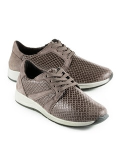 Bequem-Sneaker Taupe Detail 1