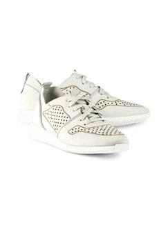 Sport-Sneaker Superleicht Weiß Detail 1