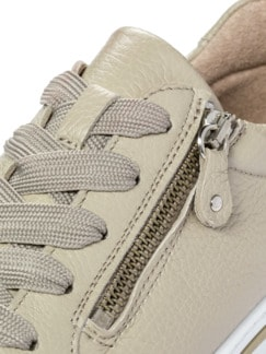Hirschleder-City Sneaker Creme Detail 4