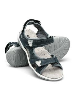Klepper Sandale Blau Detail 1