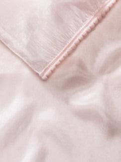 Seidenchiffon-Schal Rose Detail 3