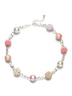 Kette Perlenspiel Rose Detail 1