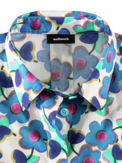 Liberty Lieblingsbluse Blumen Blau Detail 3