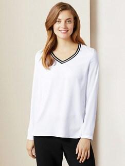 Shirtbluse Sportswear Weiß Sportswear Detail 1
