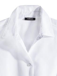 Extraglatt-Bluse Ärmellose Weiß Ärmellos Detail 3