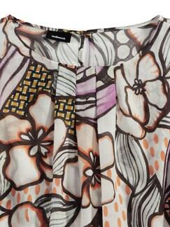 Sommerleicht Bluse Kapstadt Orange Detail 3