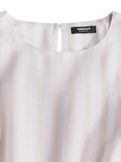 Extraglatt Pima-Cotton Shirtbluse Rose Detail 4