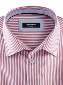 Masterclass-Hemd Str. Rot Weiss Detail 3